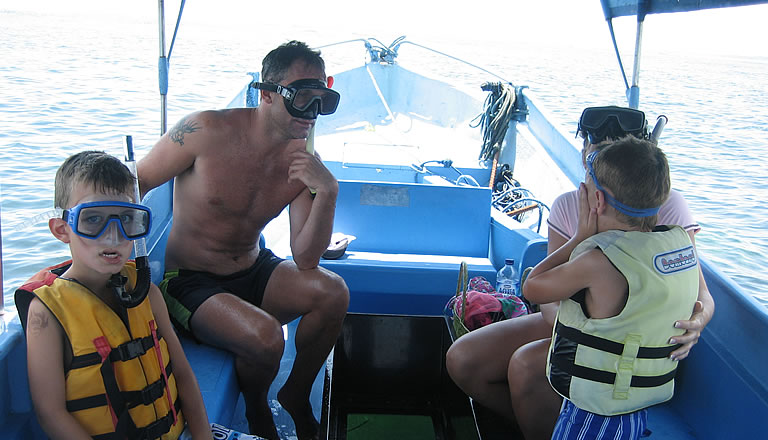 Bali Glass Bottom Boat to Turtle Island