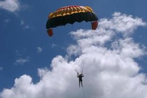 Bali Water Sport Parasailing Activity