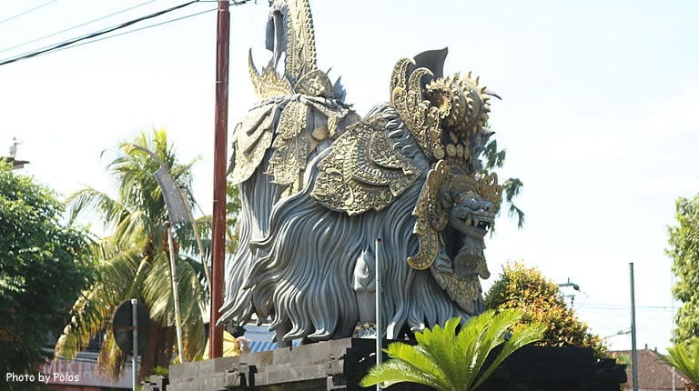 Barong Statue Junction